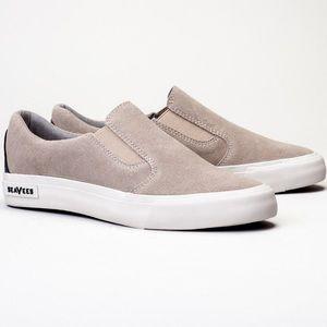 SeaVees Shoes - 🎉HP🎉 SeaVees Hawthorne Slip-On (Taupe Leather)