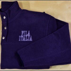 Fila Other - Vintage Fila Italia Fleece Pullover Small