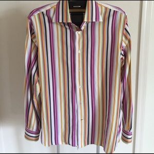 Etro Other - Etro woven cotton multi stripe shirt