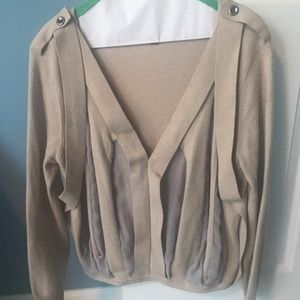 Elizabeth and James Sweaters - ON SALE !! Elizabeth and James sheer panel sweater
