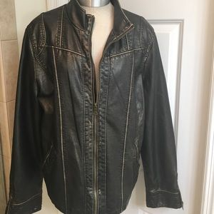 Big Chill Jackets & Blazers - Big Chill Vintage Women's Faux Leather Jacket
