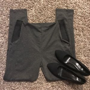 Atmosphere Pants - Atmosphere gray high waisted dress pants