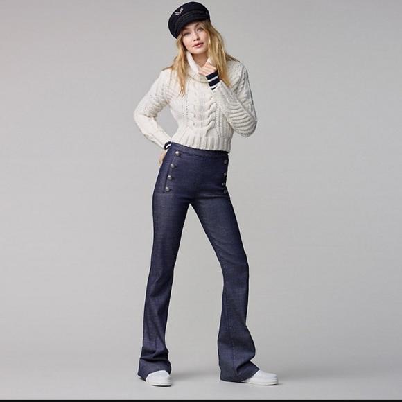 eb81cfe3 Tommy Hilfiger Jeans | Tommy X Gigi Denim Sailor Pants In Chleo ...
