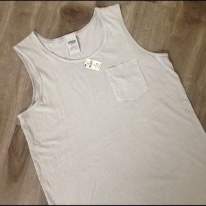 PINK Victoria's Secret Tops - NWT PINK Victoria's Secret basic every day muscle