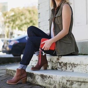 Lucky Brand Army Green Vest