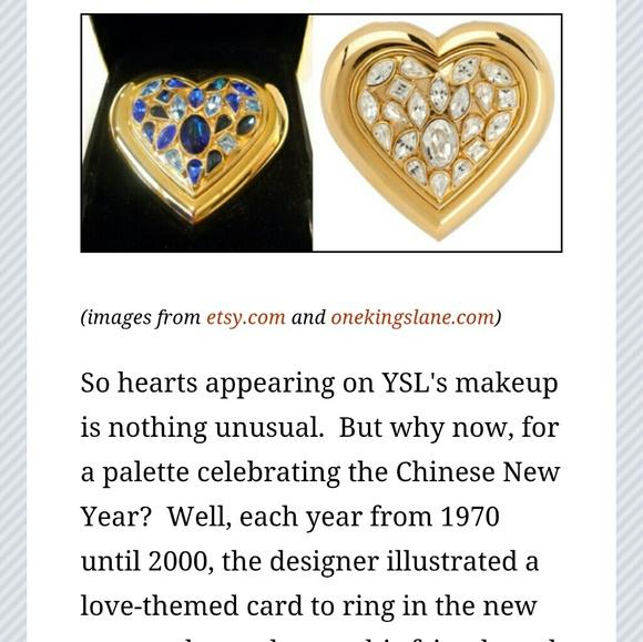 f031438b7ec Yves Saint Laurent Accessories   Ysl Paris Dazzling Crystal Jewels ...