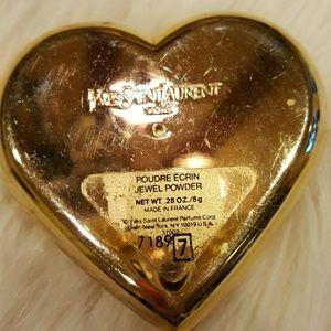 01842cacefd Yves Saint Laurent Accessories - YSL PARIS DAZZLING CRYSTAL JEWELS HEART  COMPACT