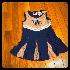 NCAA Other - NCAA girls UK cheer dress 24M