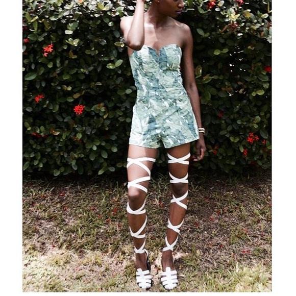 Loza Maleombho  Shoes - Loza Maleombho Zebra Sandals Size 40 (US 10)