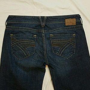 Mavi Denim - MAVI 'CHRISSY' Bootcut Jeans Dark Wash
