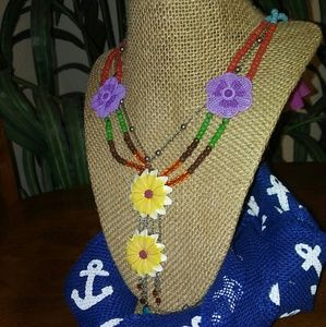 12 Pm By Mon Ami Jewelry - Lucky Brand Daisy Necklace