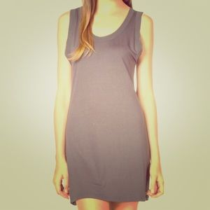 Chiffon Grey Trim Cami Dress