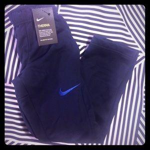 Nike Other - NWT Nike Boys Therma DriFit Navy Athletic Pants