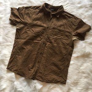 Arc'teryx Other - Arc'teryx Men's Brown Button Down Shirt