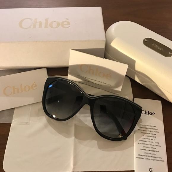 5a4024f9b688 Chloé Tilia star sunglasses shade Chloe