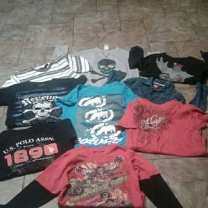 Other - Lil boys. 8 shirts and one sweater..