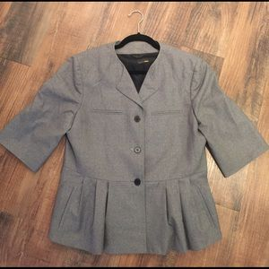 Fendi Jackets & Blazers - Fendi AUNTHENTIC Wool Grey Blazer