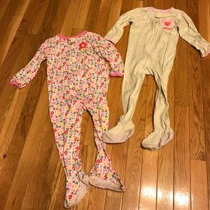 Carter's Other - 2 piece Carters onsie pajamas girls 24M