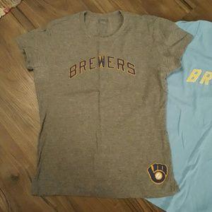 47 Tops - 3 Milwaukee Brewers Womens Tshirts