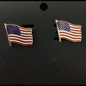 Other - American flag cuff links