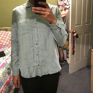 Loose Fit Denim Top