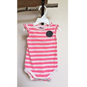Circo Other - Baby Girl Striped Onesie
