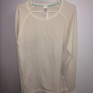 Ivivva Other - Ivivva Fly Tech LS Tee White Size L/G
