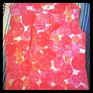 Tops - Vintage floral blouse