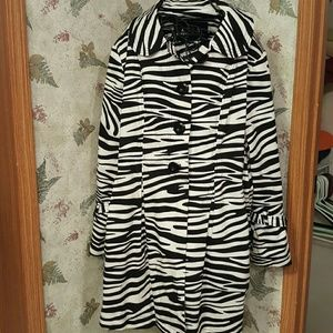 Lisa International Jackets & Blazers - Zebra jacket