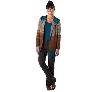 Horny Toad Sweaters - Horny Toad heartfelt merino stripe blanket sweater