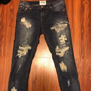 """One teaspoon """"awesome baggie"""" jeans"""