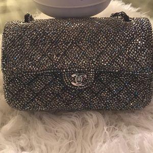 CHANEL Handbags - Custom chanel rhinestones bag
