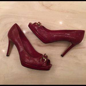 ANTONIO MELANI Shoes - Antonio Melani red pump