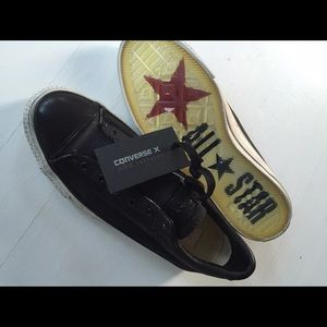 Converse Shoes - Reduced New Converse black no lace slip ons