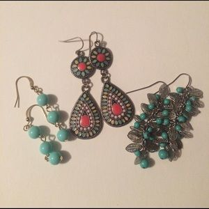 Jewelry - BOG2 - 3 for 1 Deal - Earrings - Spring Set