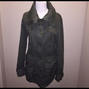 Miss Sixty Jackets & Blazers - Miss Sixty Utility Jacket in Army Green - M
