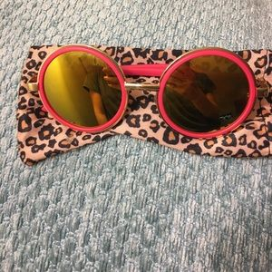 Wildfox Accessories - Hot Pink Custom Sunglasses!