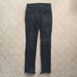 J Brand Denim - JBrand Rails Jeans in Break Up Wash