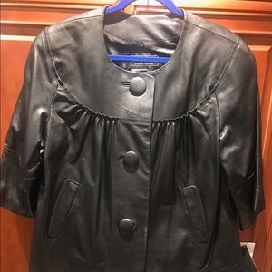 Terry Lewis Jackets & Blazers - Genuine leather black jacket.