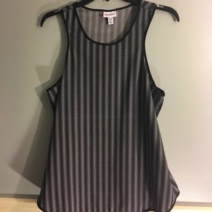 Peter Pilotto Tops - Black and white tank