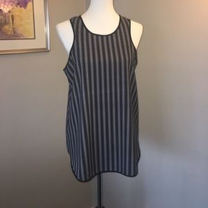 Peter Pilotto Tops - Black and white racer back  tank