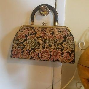 1950s Tapestry Bag