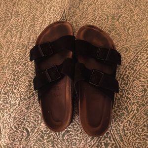 Birkenstock sandals size 40 black