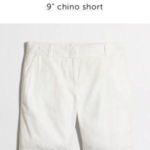 "J. Crew Pants - J. Crew Factory 9"" Chino shorts navy"