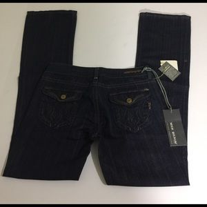 MEK Denim - MEK Denim Voyager Reno Bootcut Jeans, size 28 NWT