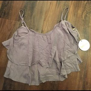 Tori Praver Swimwear Other - Tori Praver Swimwear Ruffle Tank