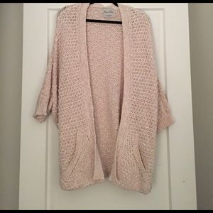 Zara cable knit cardigan