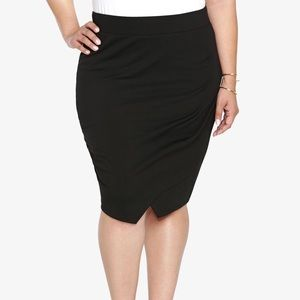 Women's Black Envelope Skirt on Poshmark