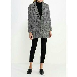 NWOT TopShop Wool Ovoid Coat