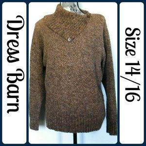 Dress Barn Sweaters - Sz 14/16 Dress Barn Sweater, Silk Blend